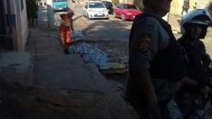 Barricadas foram destruídas na região na terça-feira Foto: Brigada Militar /divulgação
