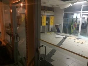 Agência do Banco do Brasil foi atacada em Viamão na última quinta-feira Foto: Felipe Daroit /Gaúcha