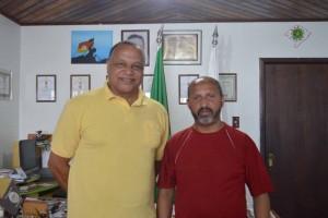 Flávio Nascimento e Leonel Lucas
