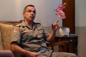 Comandante dos Bombeiros ressalta a importância da autonomia para agilizar a gestão de pessoal e de estrutura (Deivid Dutra / A Razão)
