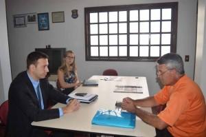 Advogados conversaram com pai de Eriston na ABAMF