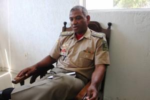 Comandante do Corpo de Bombeiros, tenente-coronel Luiz Marcelo Gonçalves Maia, diz que condições de trabalho são melhores do que na época da Kiss (Foto: deivid Dutra / A Razão)