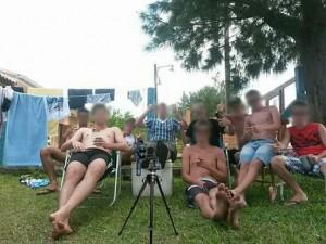 Foto circulou em grupos de WhatsApp de Bom Princípio – Foto: Reprodução / Reprodução