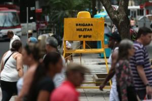 Falta de policiamento é queixa frequente da população diante do efetivo minguado da BM   Foto: Diego Vara / Agência RBS