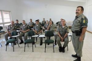 Major Soligo detalha como serão as operações no combate à criminalidade e ao tráfico / Fotos: Cacau Moraes