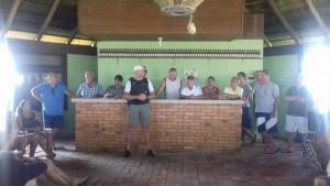Foto: Brigada Militar/ Divulgação  Reunião entre moradores e a Brigada Militar