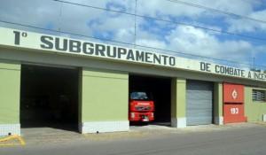 Apenas uma das três unidades dos bombeiros em Rio Grande está em funcionamento Foto: Karoline Ávila /Rádio Gaúcha
