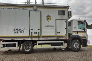 Caminhão foi adquirido durante a Copa do Mundo de 2014 Foto: Brigada Militar de Caxias do Sul / Divulgação