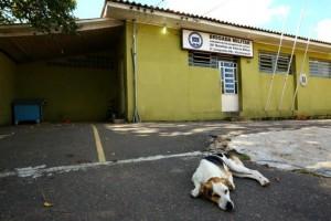 O posto da Vila Elizabeth, bairro Sarandi, abre somente das 18h às 6h devido á carência de efetivo Foto: Carlos Macedo / Agencia RBS