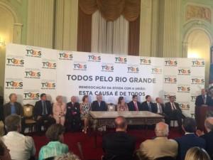 Sartori voltou a dizer que a insegurança no Rio Grande do Sul é semelhante em outros Estados Foto: Paulo Rocha /Gaúcha