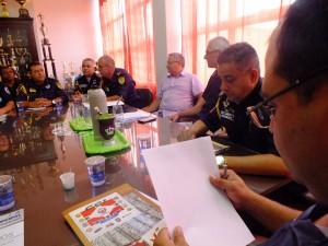 Foto: Misael Lima/GES-Especial  Representantes de nove Guardas Municipais se reúnem para alinhar estratégias de segurança pública