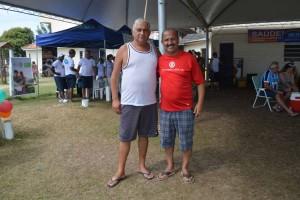 Presidente Leonel Lucas e o vice-presidente Solis Paim, da ABAMF,