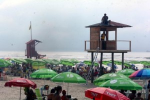 Proposta de alteração das guaritas do litoral gaúcho surgiu no início da temporada | Foto: Guilherme Testa