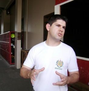 Ubirajara Pereira Ramos, coordenador geral da Associação dos Bombeiros