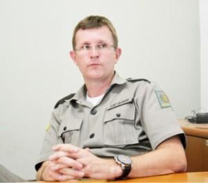 Gilmar Bischoff, capitão e subcomandante do 29º BPM
