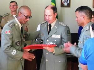 Major Noé Jesus da Costa é o novo comandante do 5º RPMon em Santiago. Foto: Divulgação/A Razão