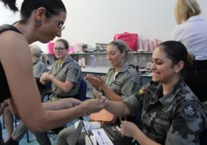 Foto: Juarez Machado/GES  Atividades relacionadas ao Dia da Mulher foram realizadas ontem