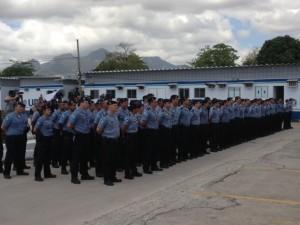 Policiais questionam tempo de formação (Foto: Janaína Carvalho/G1/Arquivo)