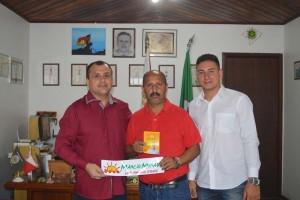 Márcio, Leonel Lucas e Dionatha Mattos