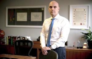 Alexandre de Moraes, secretário estadual da Segurança Pública