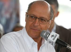 O governador de São Paulo, Geraldo Alckmin