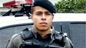 PM Maysson Fagundes da Silva levou um tiro na cabeça / Foto: Reprodução