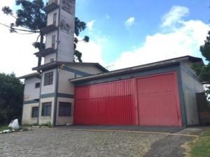 Quartel do Desvio Rizzo estava fechado na tarde desta quinta-feira Foto: André Fiedler /Gaúcha Serra