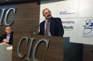 Pesquisador participou de palestra na CIC de Caxias Foto: Manuela Teixeira/ Agência RBS