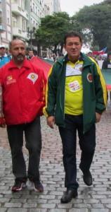 Leonel Lucas(ABAMF) e Aparício Santellano(ASSTBM) ouviram advogados e pedirão impeachment do governador do RS Sartori