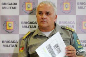Coronel Alfeu Freitas relatou que os quatro mortos no confronto tinham extensa ficha criminal | Foto: Guilherme Testa