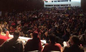 Servidores lotam auditório onde ocorre votação Foto: Felipe Daroit/Rádio Gaúcha