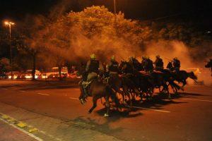 Comandante da BM nega excessos durante protesto em Porto Alegre | Foto: Fabiano do Amaral