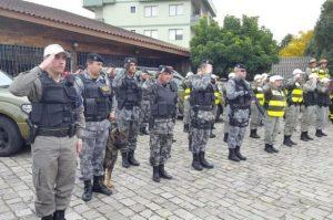Estreitar contato com a comunidade é um  dos objetivos Foto: Brigada Militar / Divulgação