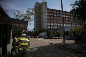Prédio da cúpula da segurança foi invadido na madrugada Foto: Diego Vara / Agencia RBS