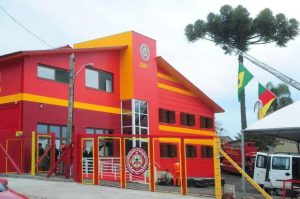 Investimento para construção do Centro de Treinamento beirou R$ 1,3 milhão, com recursos do Funrebom e parcerias Foto: Roni Rigon / Agencia RBS