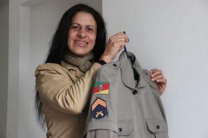 Sargento Lindamir integra primeira turma feminina em Sta. Cruz