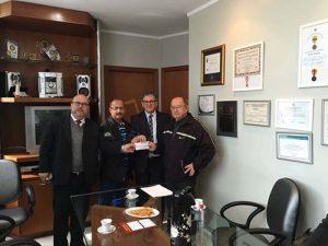 Advogados do Escritório Alei Dias Advogados e Consultores com o presidente da ABAMF, Leonel Lucas. Sucesso na defesa do brigadiano.