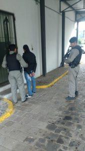 Foto: Brigada Militar/Divulgação  Homem dirigia Parati roubada no último dia 3