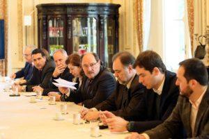 Sartori se reuniu com deputados da base aliada para tratar da LDO 2017. Foto: Luiz Chaves / Palácio Piratini / Divulgação / CP