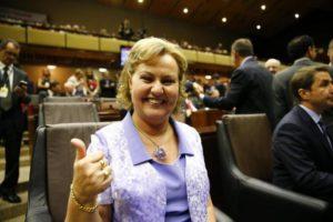 Silvana Covatti ficou responsável por ratificar decisão dos deputados. Foto: Félix Zucco/Agencia RBS