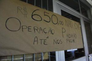 Servidores prometem manter operação-padrão e calendário de mobilizações até os salários sejam pagos na íntegra Foto: Ronaldo Bernardi / Agencia RBS