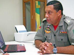 Outra conquista também veio recentemente, a promoção que lhe rendeu o posto atual de tenente-coronel