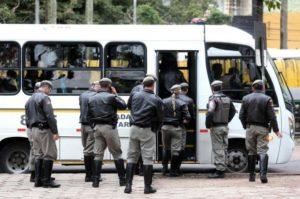 178 brigadianos aprovados em concurso, após saída de PMs temporários, já estão em curso Foto: Diego Vara /Agencia RBS