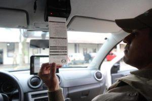 Em Santa Catarina, projeto PM Mobile possibilita registro e impressão de boletim de ocorrência na hora nas viaturas Foto: Patrick Rodrigues / Agencia RBS