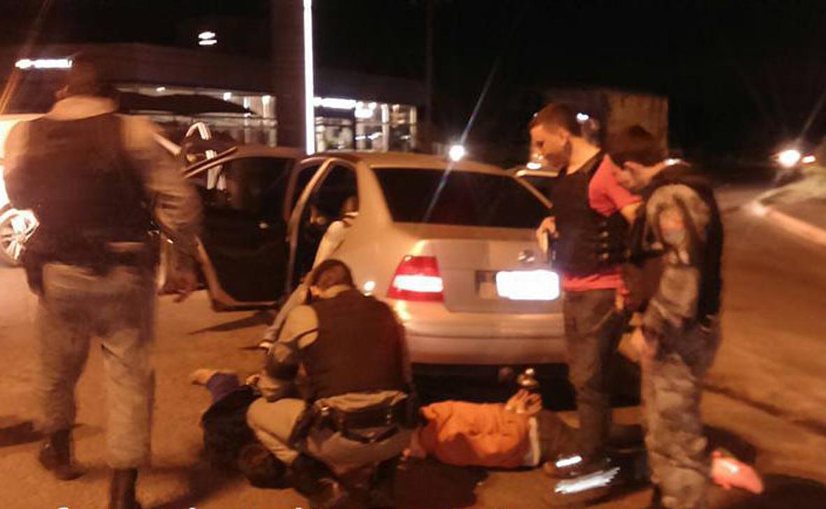 Cerco policial na noite de segunda ocorreu em Montenegro /Reprodução/FN