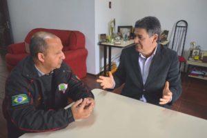 Leonel Lucas e Cassá Carpes conversaram sobre a atual situação da segurança pública na capital gaúcha.