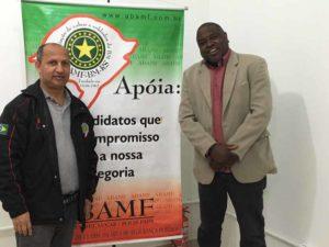Leonel Lucas e Delegado Cleiton na luta pela melhoria na segurança pública