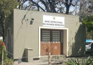 Guarda Municipal monta base operacional em posto abandonado pela BM na Redenção. Foto: Guilherme Kepler