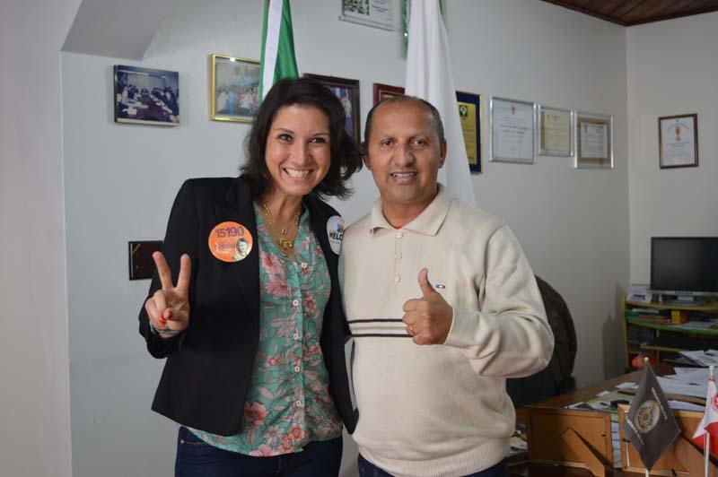 Comandante Nádia e Leonel Lucas