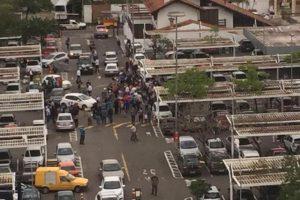 Crime foi registrado no estacionamento do Zaffari da Cavalhada, na zona sul de Porto Alegre Foto: Gabriel Schiavoni / Arquivo Pessoal